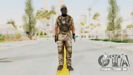 MOH Warfighter Grom Specops para GTA San Andreas segunda tela