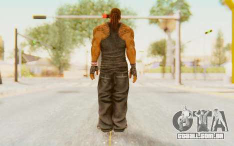 Def Jam Fight For New York - Busta Rhymes para GTA San Andreas terceira tela