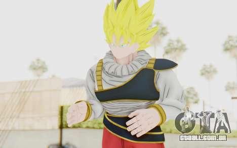 Dragon Ball Xenoverse Goku Yardrat Clothes SSJ para GTA San Andreas