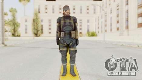 MGSV Phantom Pain Big Boss SV Sneaking Suit v1 para GTA San Andreas segunda tela