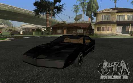 K.I.T.T. 2000 Pilot para GTA San Andreas
