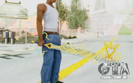 Kingdom Hearts 2: Final Mix - Ultima Weapon para GTA San Andreas