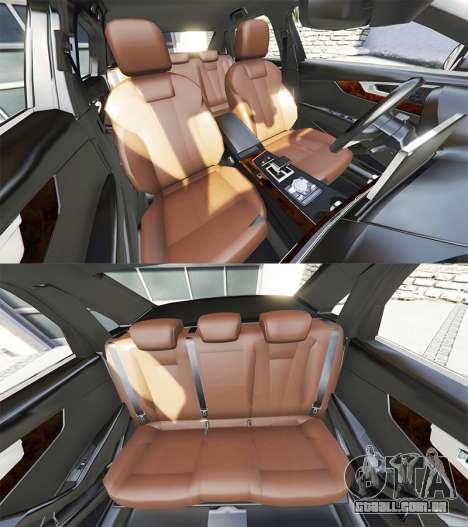 GTA 5 Audi A4 2017 [add-on] v1.1 volante