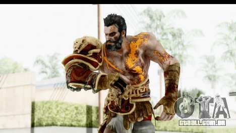 God of War 3 - Deimos para GTA San Andreas