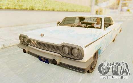 GTA 5 Declasse Voodoo para GTA San Andreas