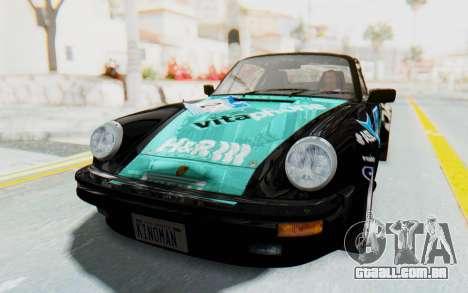 Porsche 911 Turbo 3.2 Coupe (930) 1985 para as rodas de GTA San Andreas