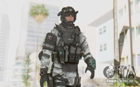 Federation Elite Assault Arctic para GTA San Andreas