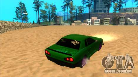 Elegy 1.3 by Mr.Phantom para GTA San Andreas esquerda vista