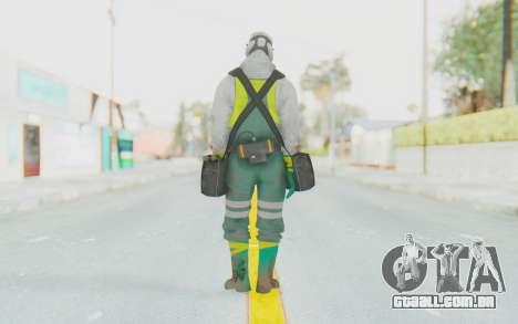 The Division Cleaners - Fumigator para GTA San Andreas terceira tela