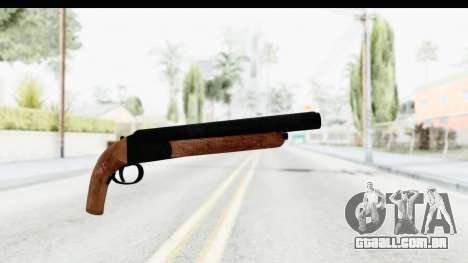 GTA 5 Double Barrel Sawn-Off para GTA San Andreas