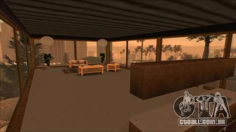 Beta Mulholland Safehouse para GTA San Andreas por diante tela