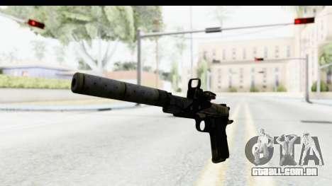 FarCry 3 - Colt 1911 Silenced para GTA San Andreas segunda tela
