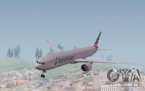 Boeing 777-300ER ANA JA755A - Gundam para GTA San Andreas