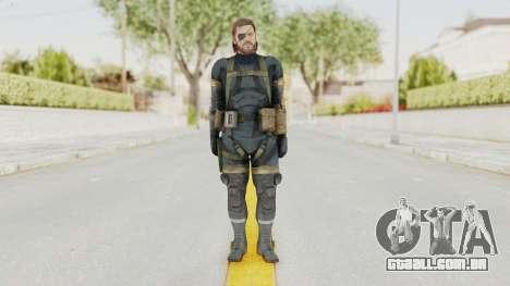 MGSV Phantom Pain Big Boss SV Sneaking Suit v2 para GTA San Andreas segunda tela