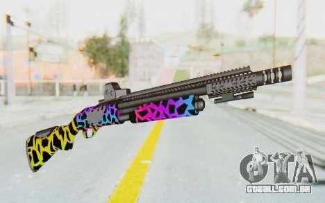 Escopeta para GTA San Andreas segunda tela