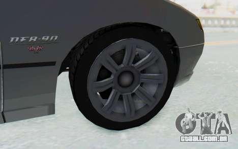 GTA 5 Imponte DF8-90 IVF para GTA San Andreas vista traseira