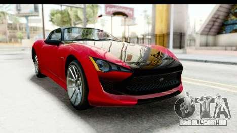 GTA 5 Lampadati Furore GT IVF para GTA San Andreas