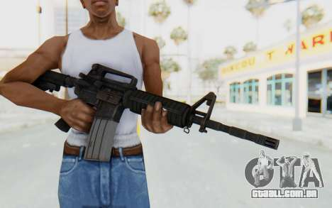Assault M4A1 para GTA San Andreas terceira tela