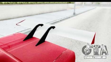 Greenwood Racing para GTA San Andreas vista interior