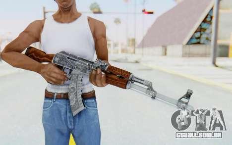 CS:GO - AK-47 Cartel para GTA San Andreas terceira tela