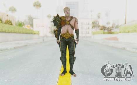 Injustice 2 - Aquaman para GTA San Andreas segunda tela
