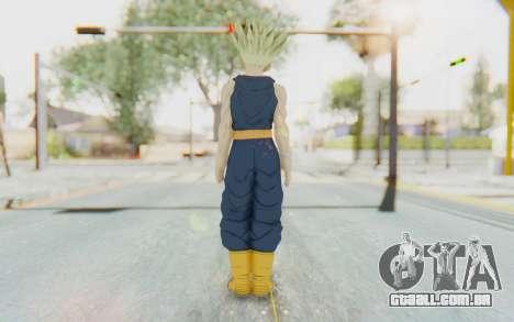 Dragon Ball Xenoverse Future Trunks Shirt SSJ para GTA San Andreas terceira tela