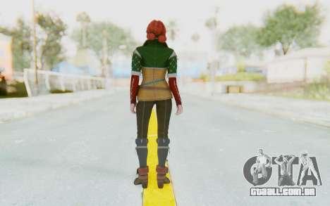 The Witcher 3 - Triss Merigold Default para GTA San Andreas terceira tela