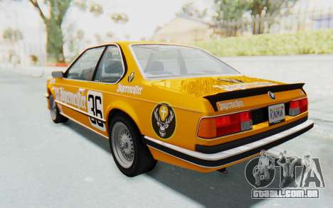 BMW M635 CSi (E24) 1984 HQLM PJ3 para o motor de GTA San Andreas