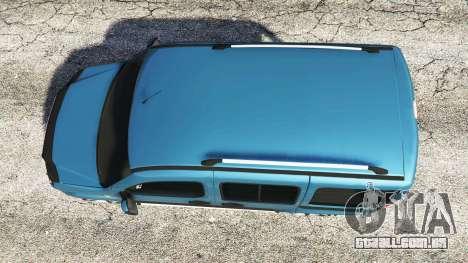 GTA 5 Fiat Doblo voltar vista