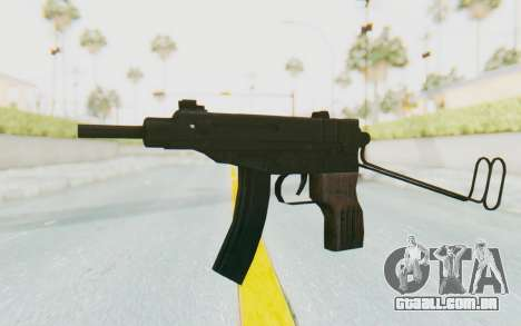 VZ-61 Skorpion Unfold Stock para GTA San Andreas segunda tela