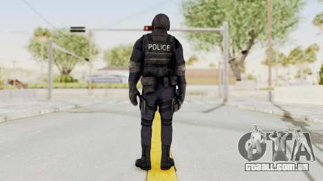 Dead Rising 2 Chucky Swat Outfit para GTA San Andreas terceira tela