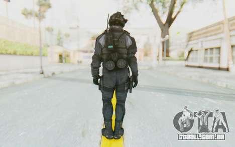 CoD BO2 LAPD v1 para GTA San Andreas terceira tela