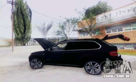 BMW X5 para vista lateral GTA San Andreas