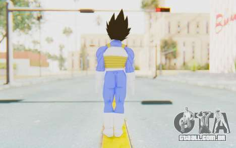 Dragon Ball Xenoverse Vegeta Android Saga para GTA San Andreas terceira tela
