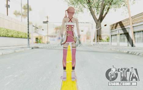 FinalFantasy XIII-2 - Serah para GTA San Andreas terceira tela
