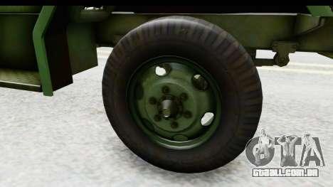 AM General M35A2 para GTA San Andreas vista traseira