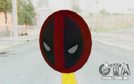 Deadpool Shield v2 para GTA San Andreas