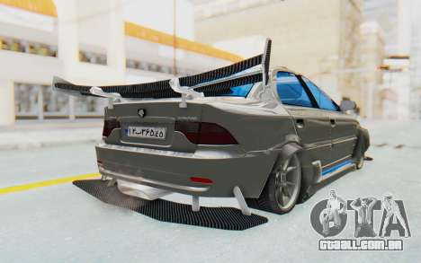 Ikco Soren Full Sport para GTA San Andreas traseira esquerda vista