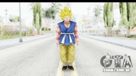 Dragon Ball Xenoverse Goku GT Adult SSJ2 para GTA San Andreas segunda tela