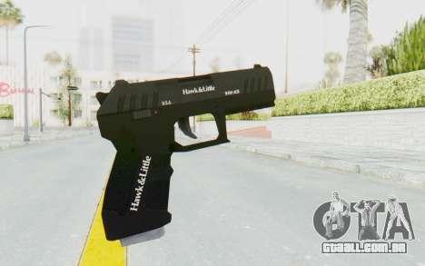 GTA 5 Hawk & Little Combat Pistol para GTA San Andreas terceira tela