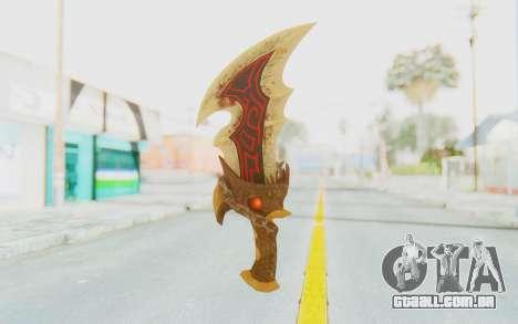 Blade of Athena para GTA San Andreas segunda tela