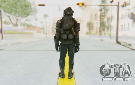 Federation Elite LMG Tactical para GTA San Andreas terceira tela