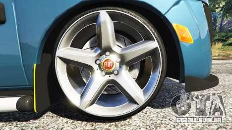 GTA 5 Fiat Doblo traseira direita vista lateral