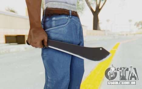 GTA 5 Vom Feuer Machete para GTA San Andreas