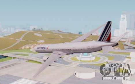Boeing 777-300ER France Air para GTA San Andreas esquerda vista