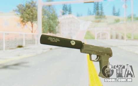 HK45 Silenced para GTA San Andreas segunda tela