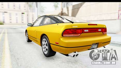 Nissan 240SX 1994 v1 para GTA San Andreas esquerda vista