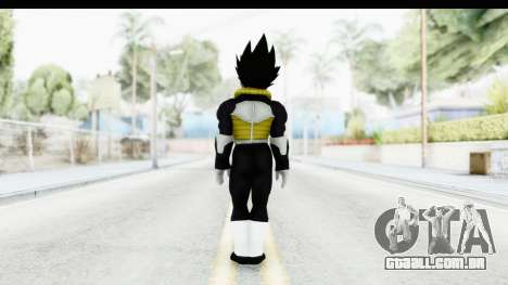 Dragon Ball Xenoverse Vegeta Timebreaker para GTA San Andreas terceira tela
