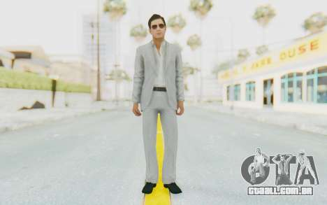 Mafia 2 - Vito Scaletta Madman Suit White para GTA San Andreas segunda tela