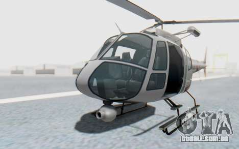 GTA 5 News Chopper Style Weazel News para GTA San Andreas